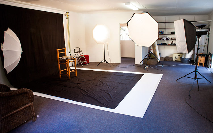 Studio photo shoots