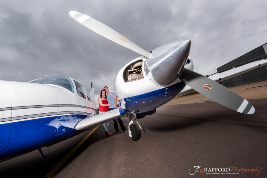 Couples photoshoot at Wonderboom Airport in Pretoria by JC Crafford Photography