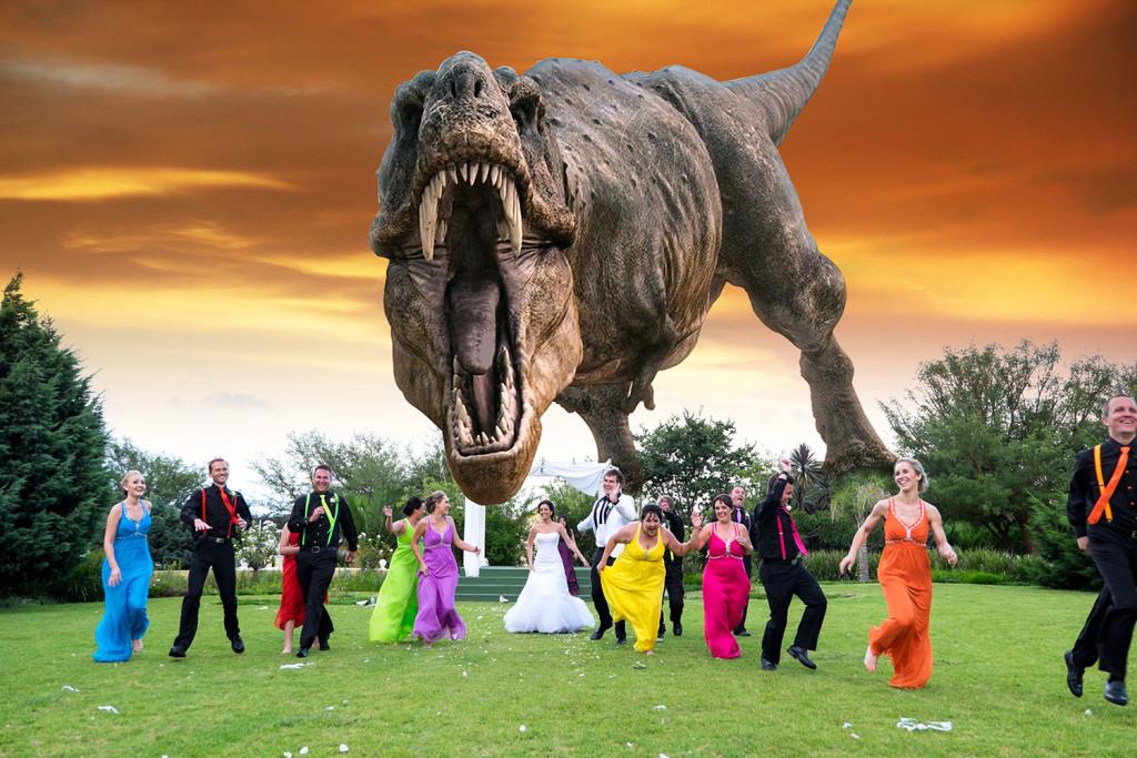 T-rex-sunset