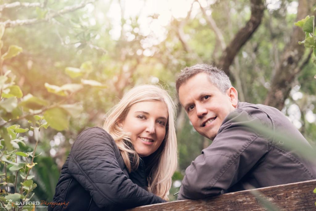 at the Pretoria Botanical gardens