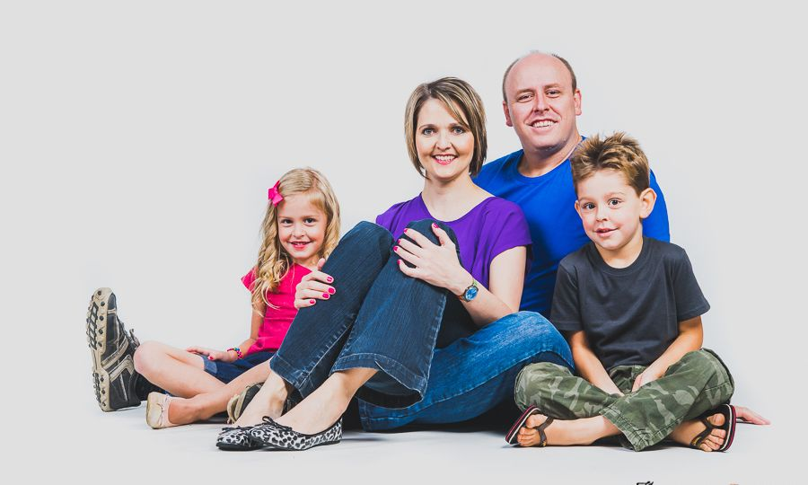 family studio shoot in Pretoria by JC Crafford Photography