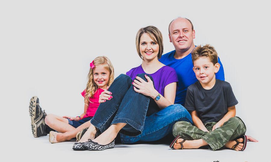 family studio shoot in Pretoria by JC Crafford Photography