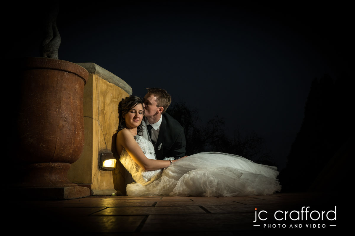JC Crafford Photo & Video wedding Photography at Castello di Monte in Pretoria DR