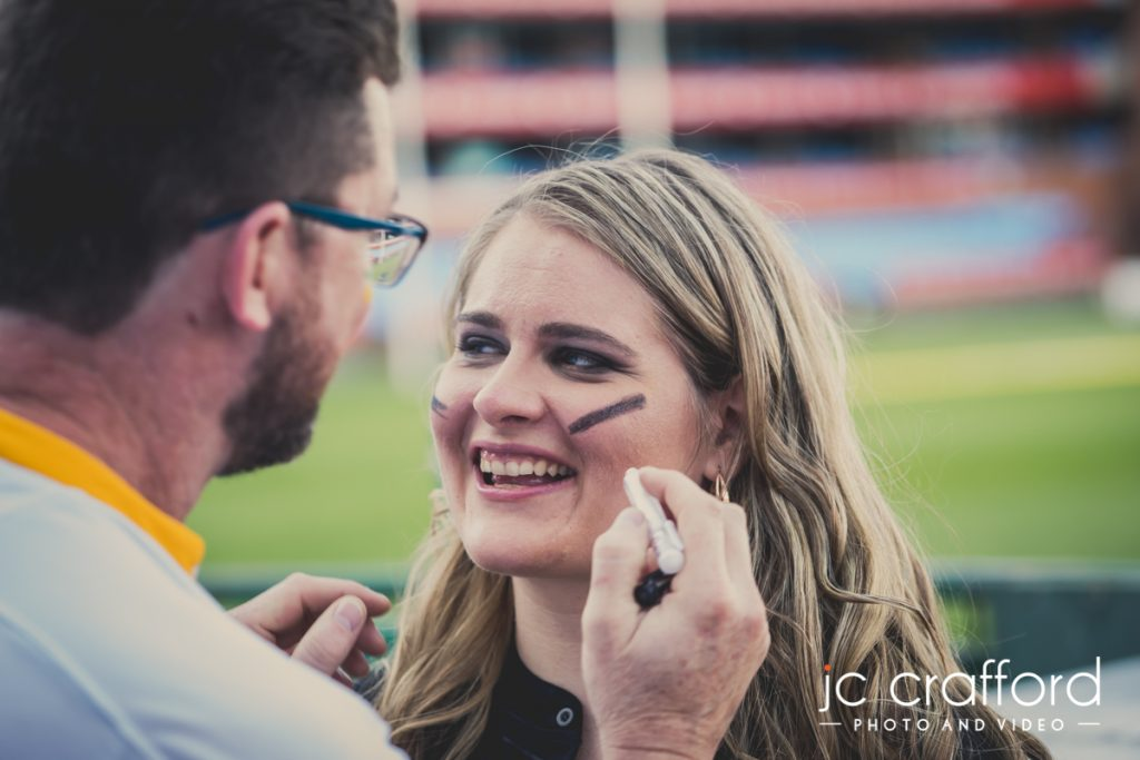 Pre wedding photo shoot at Loftus Versfeld