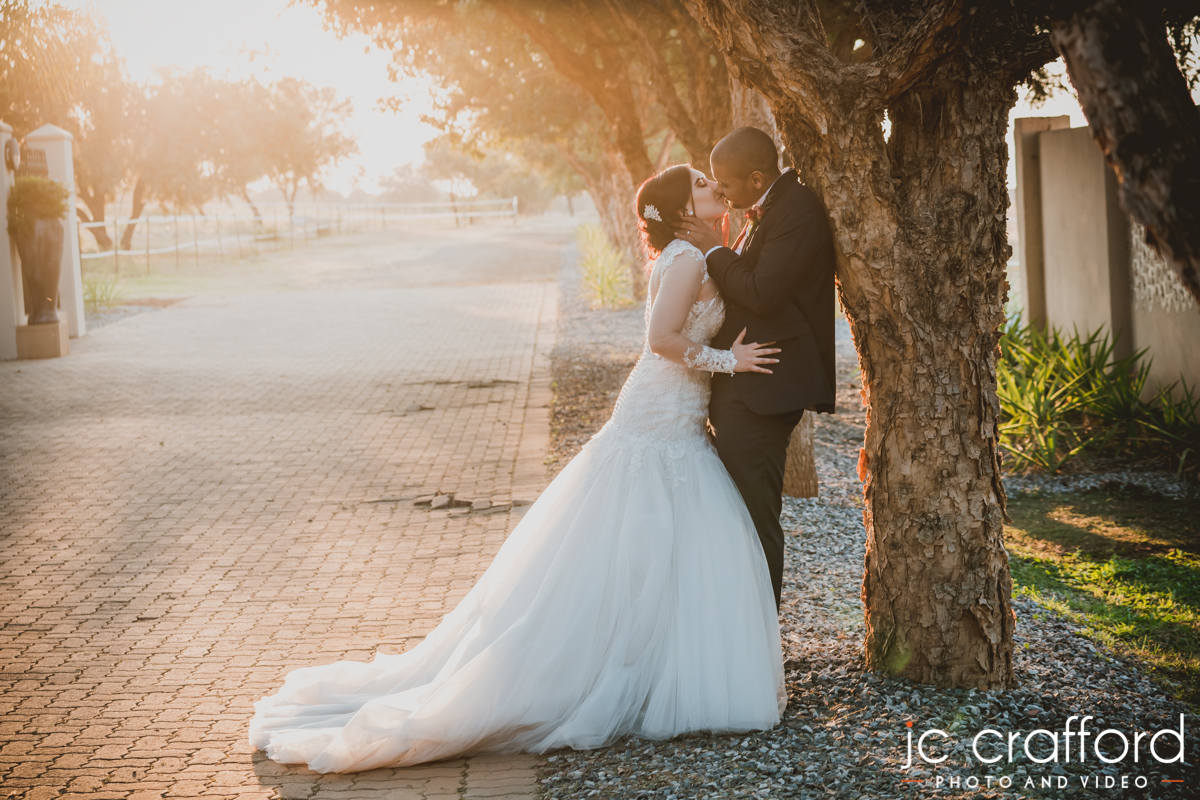 JC Crafford Photo & Video wedding photography at Chez Charlene in Pretoria GC