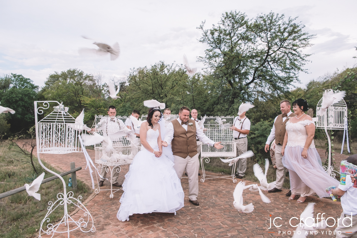 JC Crafford photo and video Zambezi Point Wedding