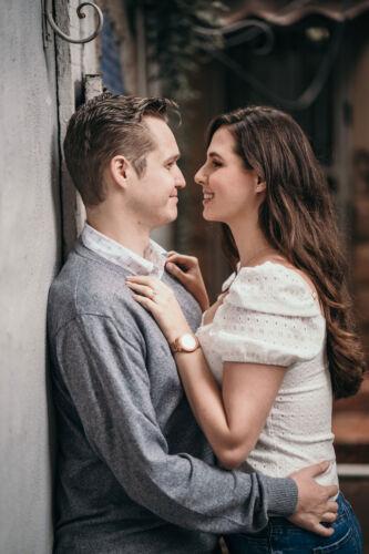 Engagement shoot at Duncan Yard